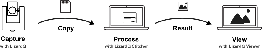 The LizardQ Process